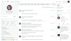 single page management view
